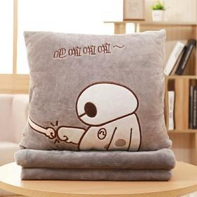 抱枕被子两用靠垫靠枕男女办公室午睡枕头汽车空调被毯子三合一