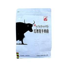 瑞安淘 预售 四川阿坝州红原通用奶粉牦牛奶粉袋装300g(20g*15袋) 罐装 454g