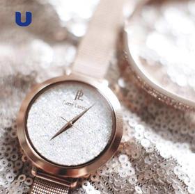 50年历史的法国腕表品牌 PIERRE LANNIER 施华洛世奇2018新款繁星系列女士腕表