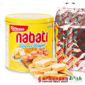 印尼进口丽芝士纳宝帝威化饼干 350g/罐 1罐