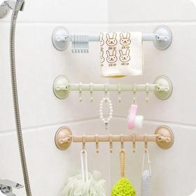 浴室厨房双洗盘6连挂钩
