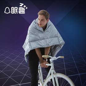 眠趣SuperX超轻热反射鹅绒毯 单人冬季盖毯 珊瑚绒毯 办公室沙发毯