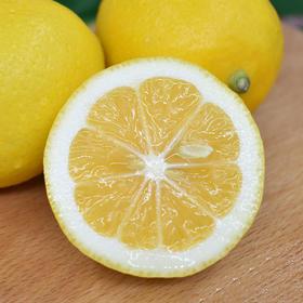 四川安岳黄柠檬 新鲜水果 天然生长 果粒饱满 肉质紧实 5斤(单果规格:125g-210g 数量12-20枚)包邮