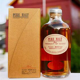 【闪购】一甲纯麦芽红威士忌_500ml/Nikka Pure Malt Red_500ml