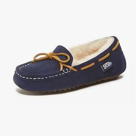 简帛儿童羊毛豆豆鞋