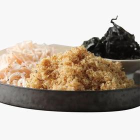 鱼生说 采撷东海四季健康好海味(头水紫菜 / 野生虾皮 / 黄鱼松 / 烤虾)