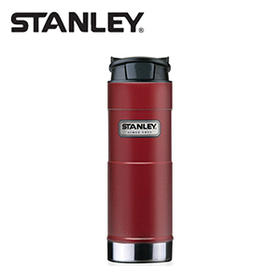 Stanley经典系列一键式不锈钢真空保温杯354毫升-红色