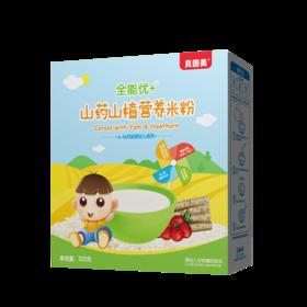 贝因美 全能优+山药山楂营养米粉325克