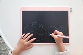 机器岛 智能小黑板液晶画板 13.5英寸儿童玩具 非磁性涂鸦绘画小黑板宝宝益智写字板 早教玩具手写板