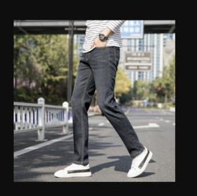 【男士牛仔裤】曼茨帛秋冬新款男士加绒牛仔裤青年男裤水洗长裤保暖中腰爆款 | 基础商品