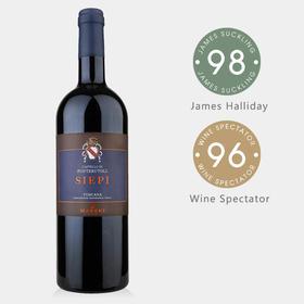 【绝对巨星 意大利TOP50】JS98分!马泽世家凤都围栏葡萄园干红葡萄酒 2016 【限量直采预售】