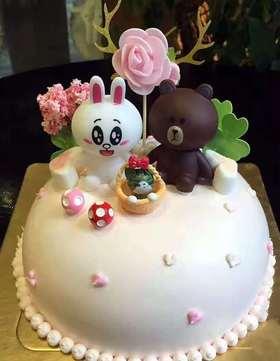 【云语出品】十月西双(儿童款)蛋糕款式
