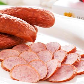 积分兑换 | 正宗哈尔滨红肠 传统工艺 果木熏烤 经25道工序 肉质饱满有嚼劲 500g/3根