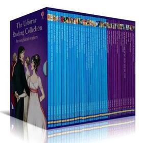 Usborne英语绘本Reading Collection我的第四个图书馆故事书40册