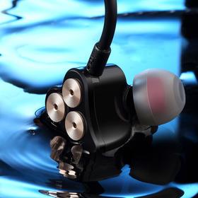 bboooll/波耳六动圈电脑耳机入耳式魔音耳麦手机通用hifi重低音乐