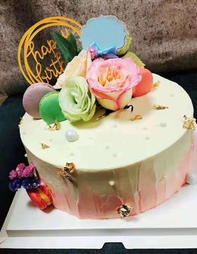 【云语出品】十月西双(女神款)蛋糕款式