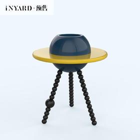 宜氧原创现代简约边几茶几北欧家用个性设计烤漆床头沙发星球边几