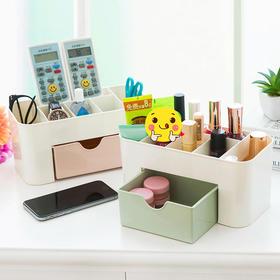 桌面化妆盒带小抽屉多功能首饰盒