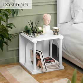 宜氧原创多功能床头柜简约现代茶几边几北欧设计卧室客厅古堡边几