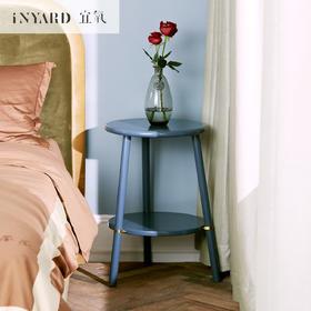 [InYard宜氧]圆圈边几/高光床头柜/沙发边桌茶几/北欧实木设计师