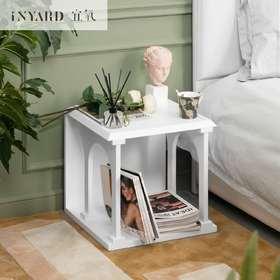 [InYard宜氧]古堡边几/原创多功能床头柜/北欧简约茶几咖啡桌