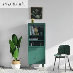 [InYard宜氧]活角高柜/升级版电视边柜/玻璃收纳餐边柜/北欧简约