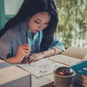 文艺版《芥子园画传》一部火了 300 年的国画教科书,齐白石从小临摹,0基础上手拿起来就能画!