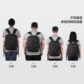 【双重防盗】人体工程学多功能背包