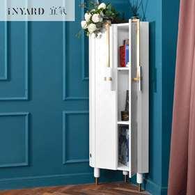 [InYard原创]活角角柜/客厅三角柜转角柜墙角收纳柜子皮粉白北欧