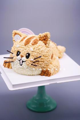 猫咪 奶油蛋糕