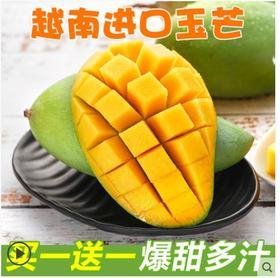 越南青皮芒果新鲜当季水果甜心玉芒整箱10斤批发