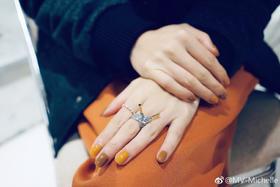 SCHIELD LACES RING /系绳系列施华洛世奇镶钻戒指