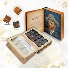 Van Gogh梵高藏书巧克力比利时进口 生日七夕情人节礼物