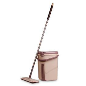 【精选】刮刮乐平板拖把拖桶一套装丨清洗易净吸水性佳【生活用品】