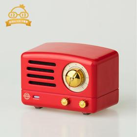 猫王收音机 MW-1A( 复古红)
