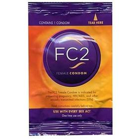 美国FC2女用安全套女性避孕套(单只装)