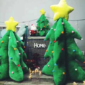 霍思燕同款会发光唱歌的圣诞树老人麋鹿公仔毛绒玩具抱枕摆件礼物