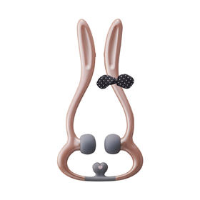 日本【LOUrdes】小兔子夹夹乐电动颈部按摩器