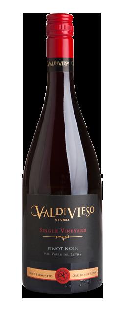 【闪购】瓦帝维索维尼尔德黑皮诺 红葡萄酒2016(2瓶装)/Valdivieso Single Valley Lot Pinot Noir 2016