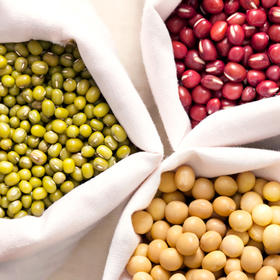 【五常县直邮】东北黑土地黄豆、绿豆、红豆 农家自产五谷杂粮 5斤装包邮