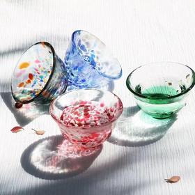 津轻石塚硝子四季玻璃杯 单个装清酒杯