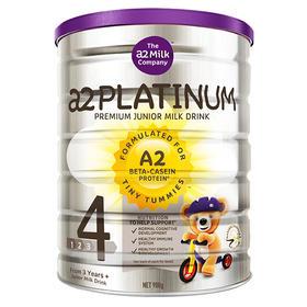 【直邮包邮】4段 澳洲新西兰本土版 A2 Platinum白金系列  900g ×3罐