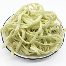 【新鲜  纯手工 现做】恩施富硒绿豆豆皮一斤装   特产美食 (买四斤送一斤)