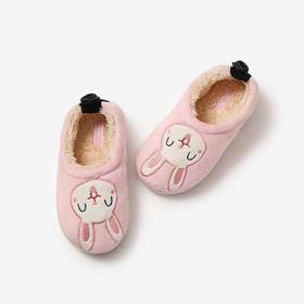 KENROLL科柔 儿童款棉质包跟居家拖鞋