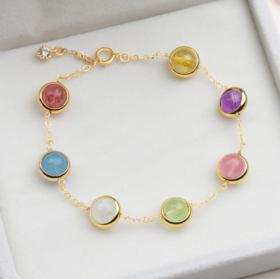 【转运手链】天然水晶转运珠手链女 甜美闺蜜生日礼物