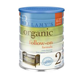 【直邮包邮】澳洲新西兰本土版 贝拉米 二段 6-12个月 900g ×3罐