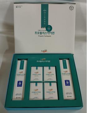 蜂胶常春藤香皂套装(牙膏2P,香皂4P)