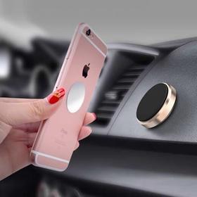 【出风口粘贴式手机支架磁力磁吸通用车载支架吸盘导航车内汽车支架
