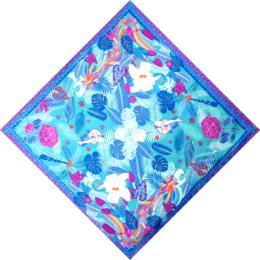 法国娇兰家族限量订制丝巾 | Acapulco 骑士星空