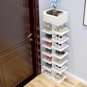 简易简约加厚仿实木多层鞋架子储物架门厅玄关换鞋客厅门口鞋柜